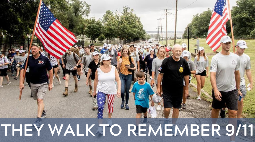 They Walk to Remember 9/11
